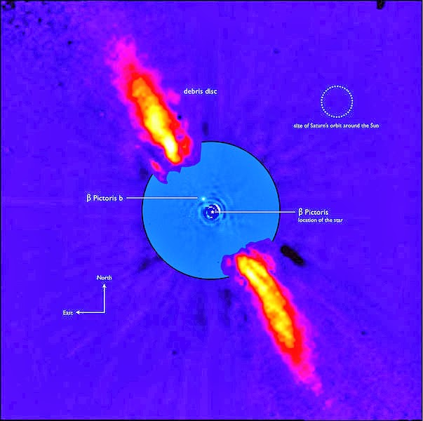 Image result for beta pictoris b
