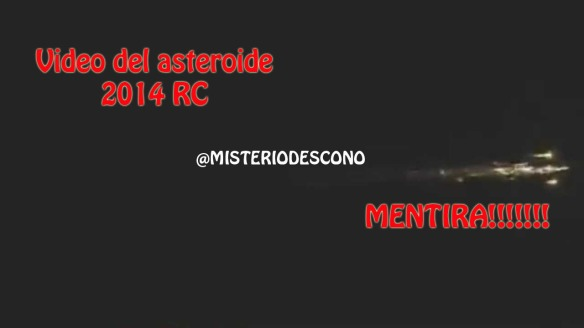 Asteroid 2014 RC Live View !